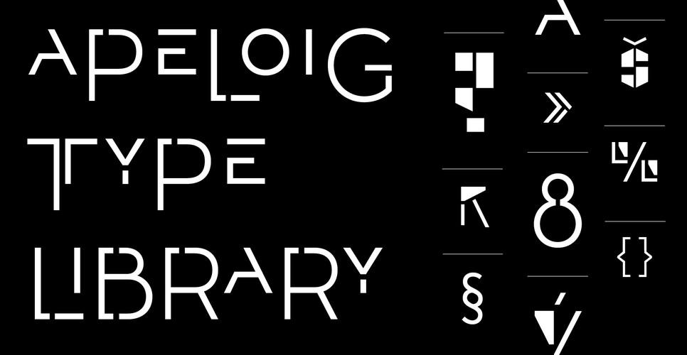 Apeloig Type Library